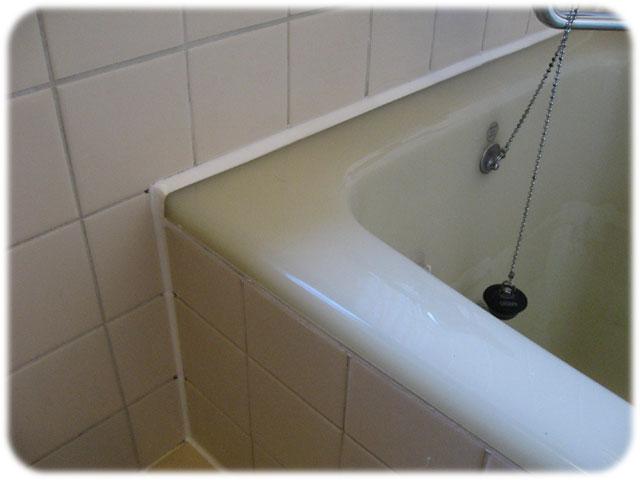 キッチン、洗面台、浴槽廻りの出張費込みのコーキング(ゴムパッキン)打ち... コーキング 浴室